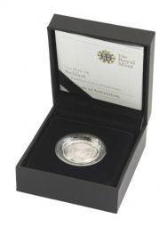 2010 Silver Proof Piedfort Belfast One Pound for sale